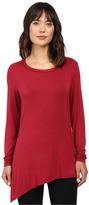 Trina Turk Long Sleeve Drape Shirt