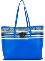 Versace Greca Palazzo shopper tote - women - Nappa Leather - One Size
