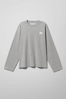 Weekday Santa Cruz Truck Long Sleeve - Grey