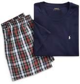 Ralph Lauren Cotton Sleep Shirt & Boxer Set