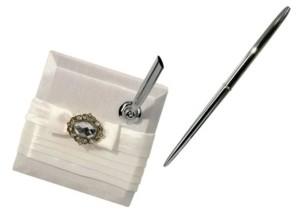 Lillian Rose Wedding Signing Pen with Rhinestones