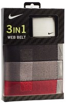 Nike Web Belts (3-Pack)