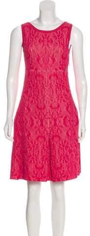 Chanel Matelassé Midi Dress