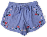Boho Babe Priscilla Embroidered Shorts