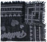 Philipp Plein printed scarf - women - Cotton/Polyamide/Polyester/Modal - One Size