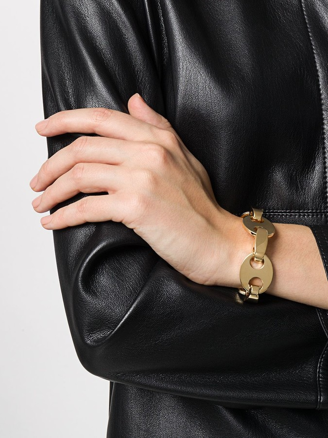Thumbnail for your product : Paco Rabanne Gold-Tone Disc And Clasp Bracelet