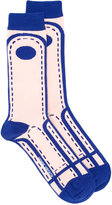 Henrik Vibskov Crossing Lane socks