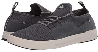 Quiksilver Summer Stretch Knit Shoes (Grey/Grey/White) Men's Shoes