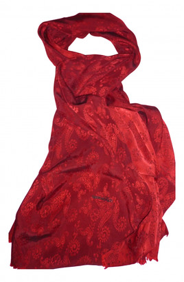 Georges Rech Red Silk Scarves