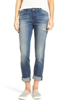 KUT from the Kloth Women's Catherine Roll Cuff Boyfriend Jeans