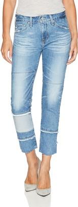 AG Jeans Women's The Ex-Boyfriend Slim-repurposed Jean
