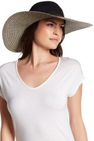 San Diego Hat Company Mixed Brim Floppy Hat