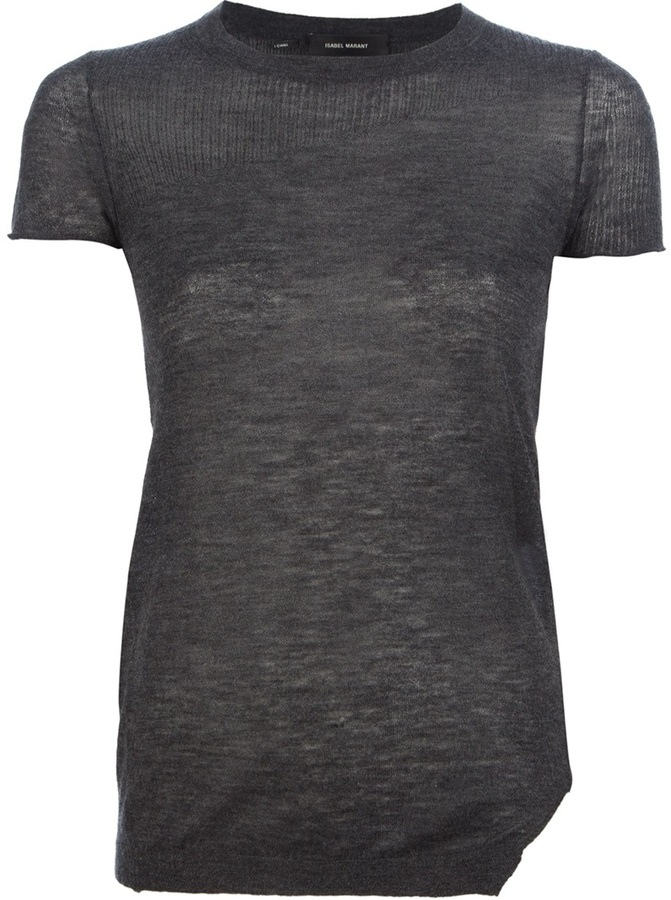 Isabel Marant 'Link' short sleeve sweater