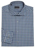 Pal Zileri Regular-Fit Tattersol Dress Shirt