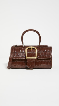 Rylan Dark Brown Mini Satchel
