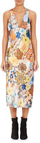 Acne Studios Women's Delila Floral Charmeuse Midi-Dress
