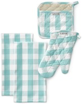 Williams-Sonoma Williams Sonoma Check Kitchen Linens Set