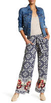 Angie Self-tie Wide Leg Pant