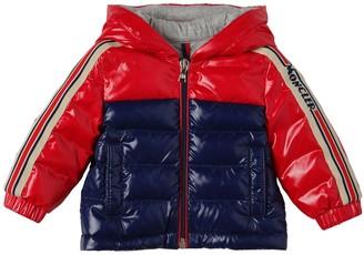 Moncler Jonc Hooded Nylon Down Jacket