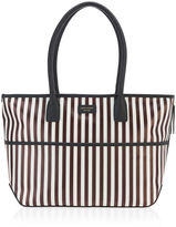 Henri Bendel Stripe Canvas Dog Tote