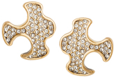 Paige Novick Gabriel Small Puzzle Stud Earrings