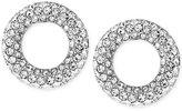 Michael Kors Pavé Crystal Circle Stud Earrings