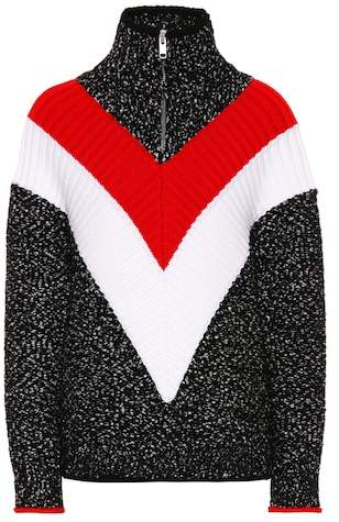 Givenchy Wool and cotton-blend sweater