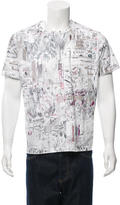 Paul Smith Printed Short Sleeve T-Shirt