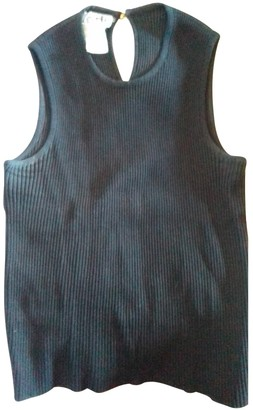 Hermes Black Cotton Top for Women Vintage