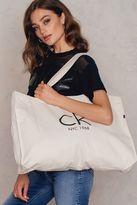Calvin Klein Canvas Tote Bag