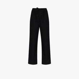 Tekla Flannel Cotton Pyjama Trousers