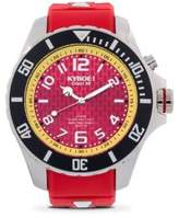 KYBOE Stainless Steel Maryland Terrapins Strap Watch