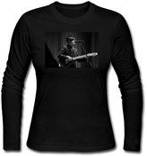CYGHFCF Leonard Cohen You Want It Darker 2016 Women Long Sleeve T-shirt
