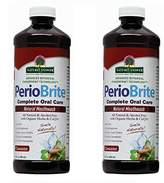 Nature's Answer Periobrite Alcohol-Free Mouthwash, Cinamint, 16 Ounce, 2 Count