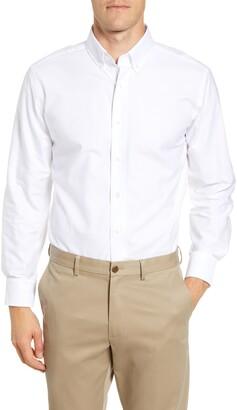 Lorenzo Uomo Trim Fit Solid Dress Shirt