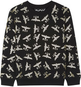 Boy London Repeating eagle logo cotton-blend jumper 3-12 years