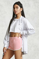 Forever 21 Contrast Trim Dolphin Shorts