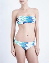 Missoni Zigzag bandeau bikini set