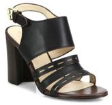 Cole Haan Lavelle Leather Block Heel Slingbacks
