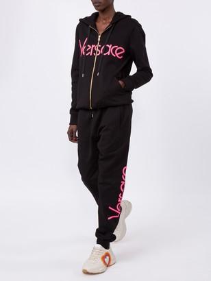 Versace Vintage Logo Track Pants Black