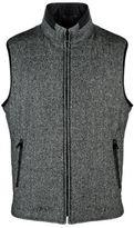 Corneliani Reversible Wool And Suede Gilet