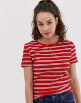 New Look Stripe Rib Tee
