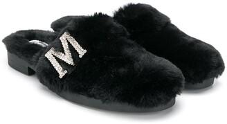 MonnaLisa slip-on sandals