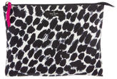 Kate Spade Leopard Cosmetic Bag