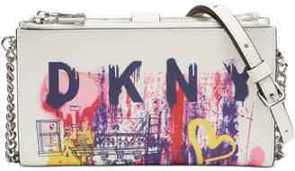 DKNY Bryant Leather Crossbody Wallet