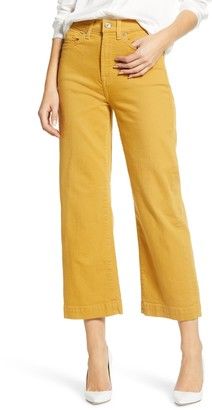 7 For All Mankind Alexa Cropped Wide Leg Jeans