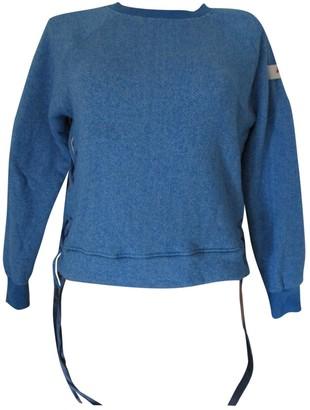 Peuterey Blue Cotton Knitwear for Women