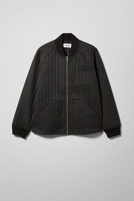 Weekday Hans Quilted Bomber - Black