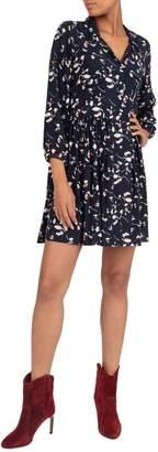 BA&SH Floral-Print Mini Shirtdress