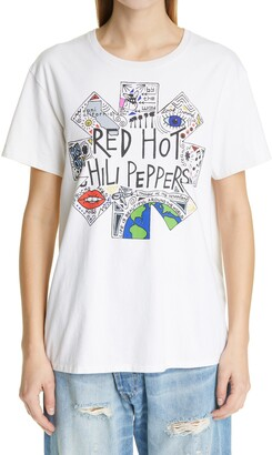 R 13 RHCP Doodle Graphic Boy Tee